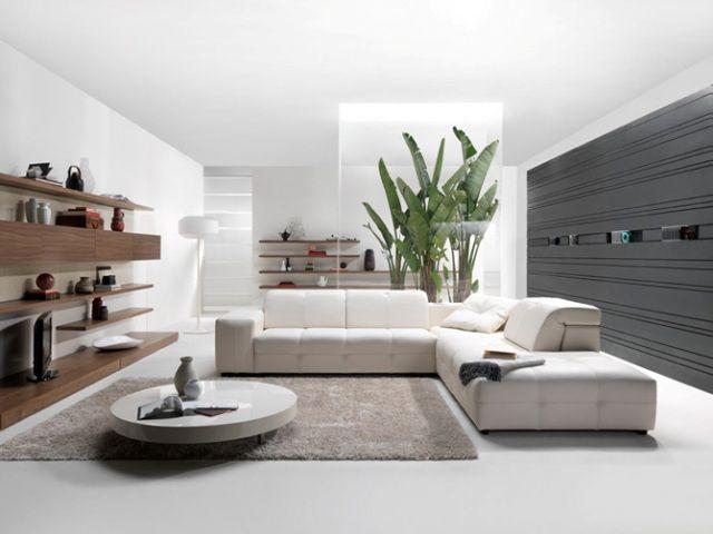 Modern White Living Room Sofa Art Dream Decor Pinterest