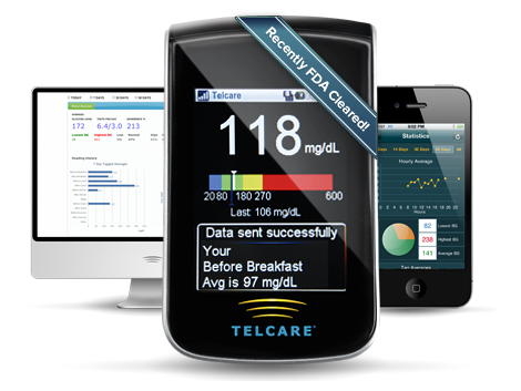 New meter with built in cell service let's you log your blood sugars automatically. See them on the web or  on your smart phone. Share them instantly with your doctor or loved ones.