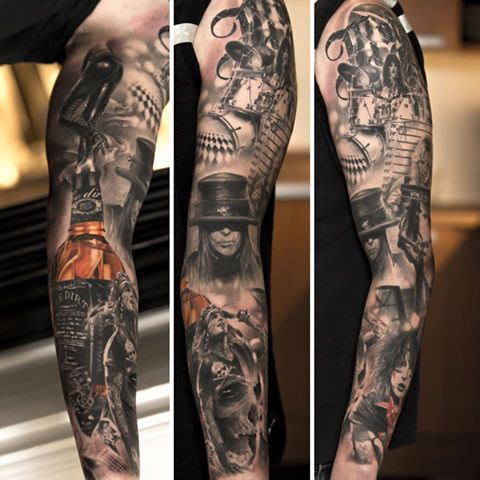les 10 plus beaux tatouages r alistes de niki norberg g nie du dermographe tatouages. Black Bedroom Furniture Sets. Home Design Ideas