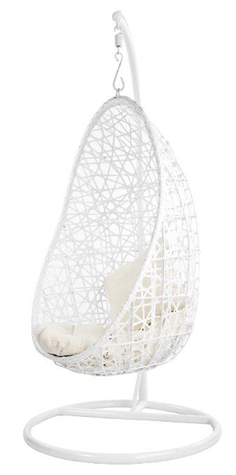 giradino egg fauteuil suspendu blanc anniv c2 bedroom chair hanging egg chair et swinging chair. Black Bedroom Furniture Sets. Home Design Ideas