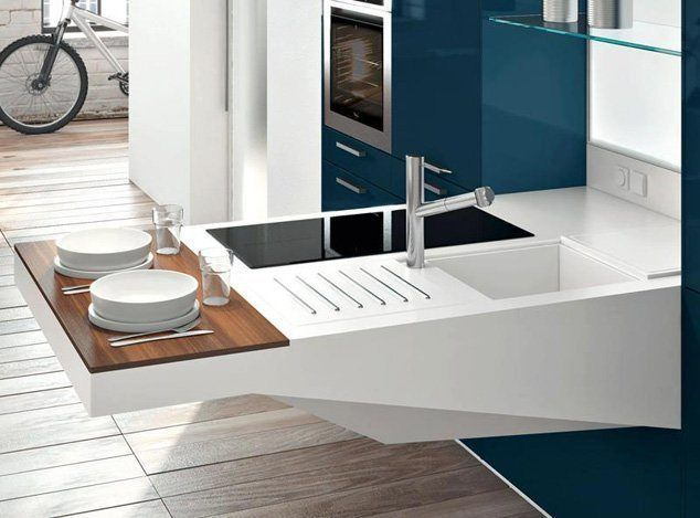 ms modelos de mini cocinas compactas