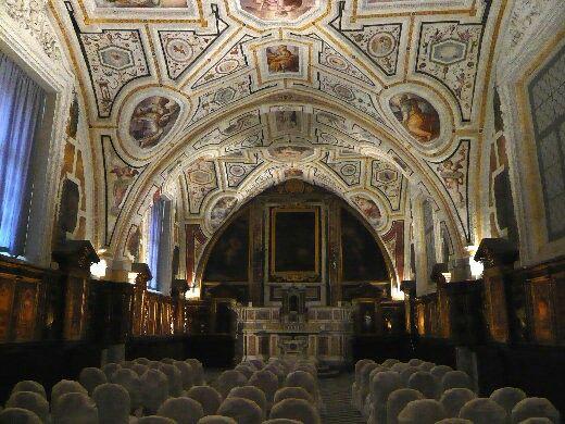 Refettorio della Chiesa di Santa Maria di Monteoliveto
