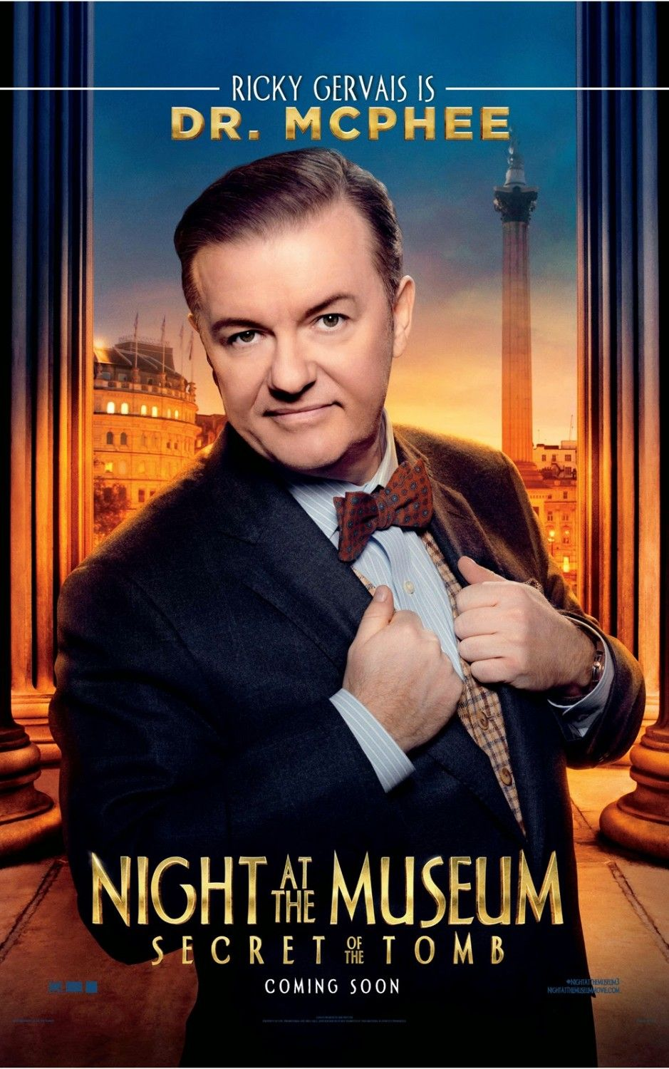 night at the museum: secret of the tomb (2014)   posters   films