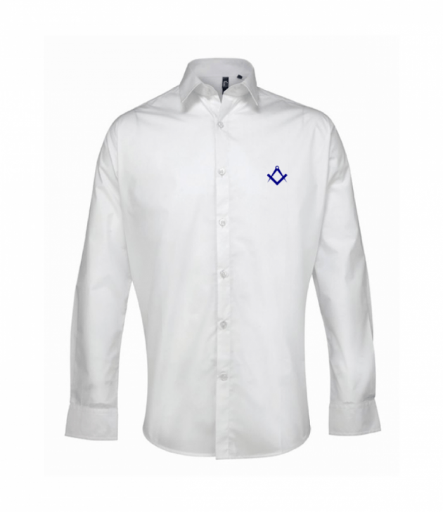 bd5838e9 Masonic dress shirt with Square and Compasses - Great gift or present for a  freemason!