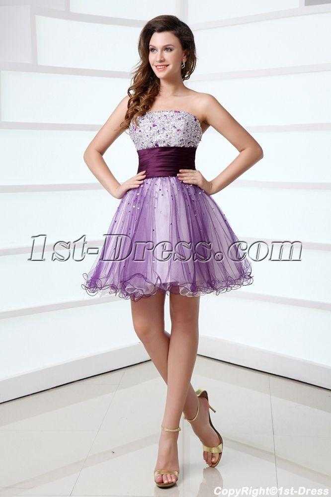 Purple Sweet 16 Dresses Short in Miami:1st-dress.com | sweet 16 ...