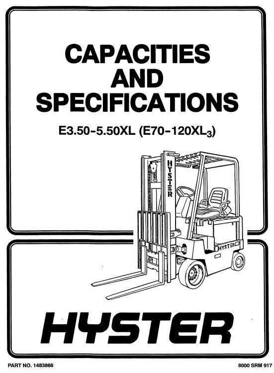 H80xl Hyster Manual
