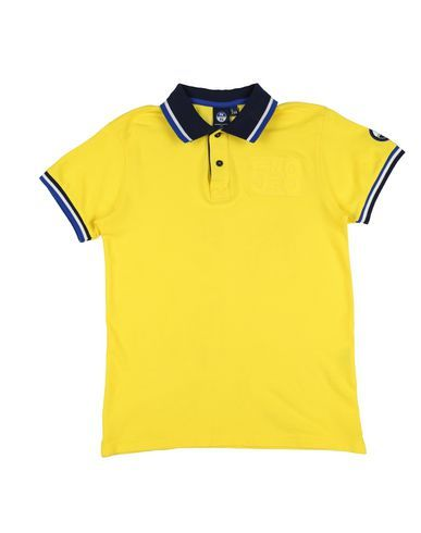 NORTH SAILS Boy's' Polo shirt Yellow 14 years