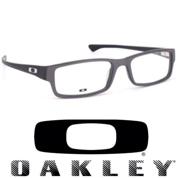 Oakley Servo Xl Satin Steel Eyeglasses Oakley Eyeglasses Oakley Sunglasses