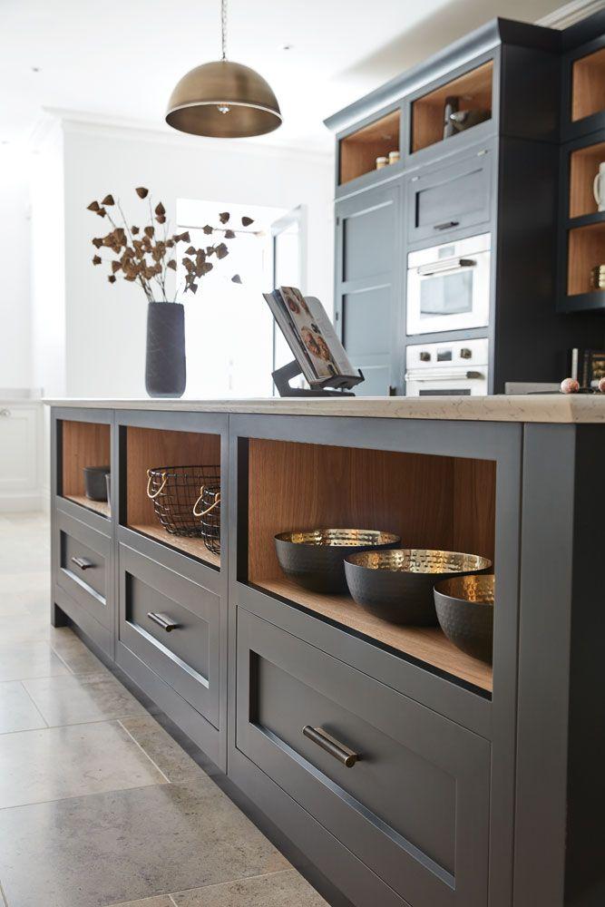 Best Dark Grey Shaker Style Kitchen In 2020 Grey Kitchen 400 x 300