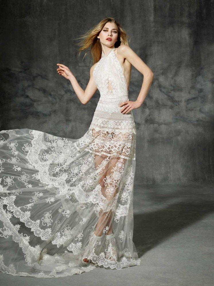 vestido de noiva lepanto de yolancris boho folk 2016 com top cruzado
