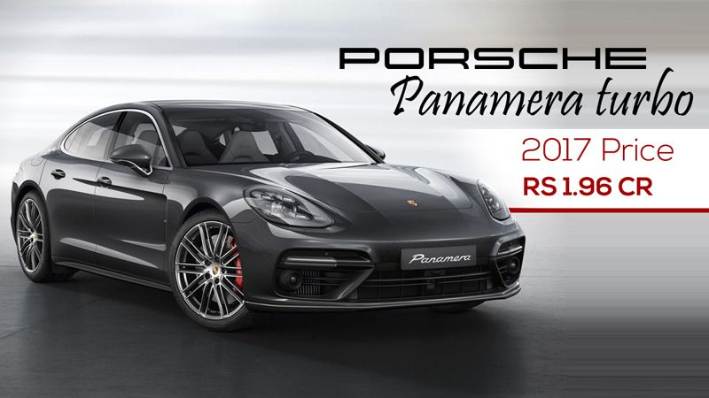 Porsche Panamera Turbo Cars 2017 Price in India Find New Audi