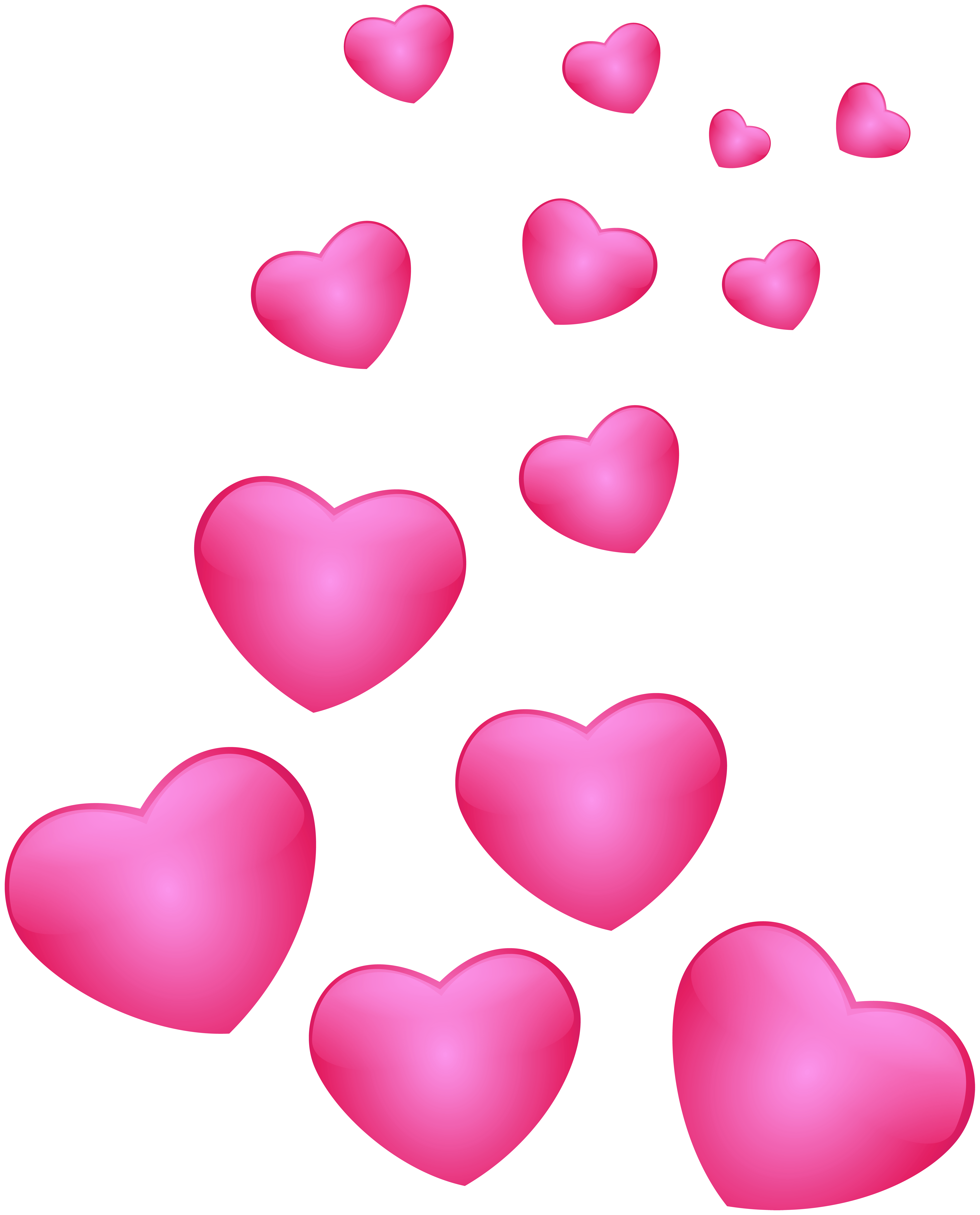 Hearts Pink Png Clip Art Image Gallery Yopriceville High Quality Images And Transparent Png Free Clipart Free Clip Art Clip Art Art Images