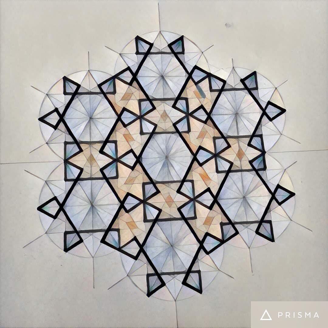 Shafina Ali Design Geometric Art Islamic Art Islamic Art Pattern