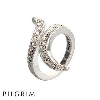 PILGRIM Classic Silver Swirl Ring fra PILGRIM til £27.99 | Eksklusive Smykker - Produktsøger - Smykker, ure, m.m.