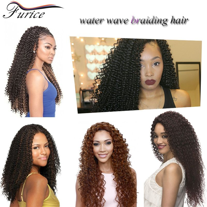 Water Wave Braiding Hair 1 Twist Braid Hairstyles Curly
