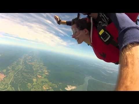 Amber From Crump Tn Gets Aerial Aerial Crump Skydiving