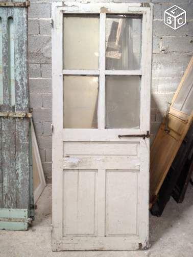 Porte vitr e de r cup ration cloisons vitr es for Vitre de porte interieur