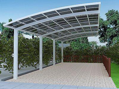 Beautiful Auminum alloy frame carportcanopygazebogaragecar shelter awning & Beautiful Auminum alloy frame carportcanopygazebogaragecar ...
