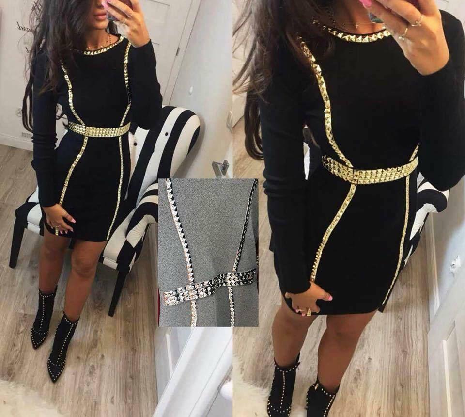 Gold Trim Little Black Dress Little Black Dress Womens Dresses Dresses