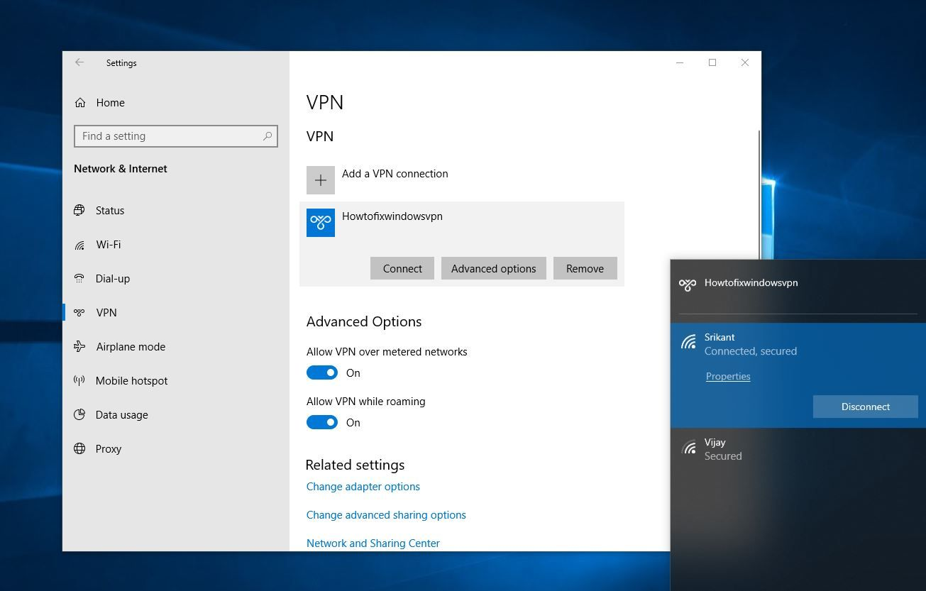 How To Setup A Vpn Client Windows 7