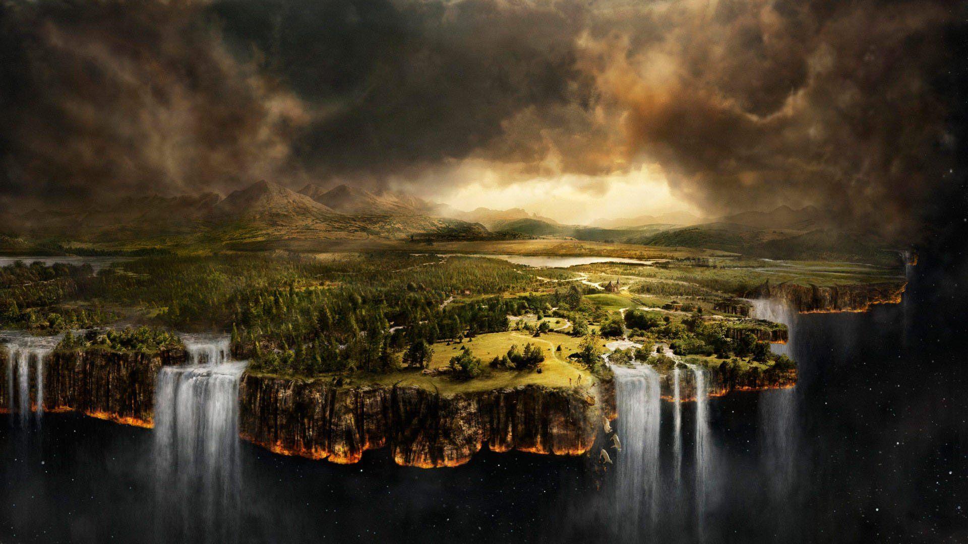 Fantasy Mystical Magic Fantasy Landscape Scenery Wallpaper World Wallpaper
