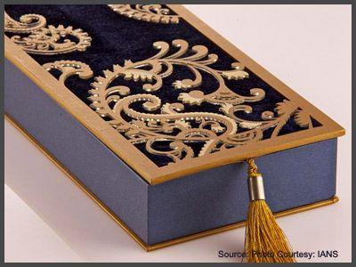 Fancy wedding cards rule the roost! mooi Pinterest - invitation card kolkata