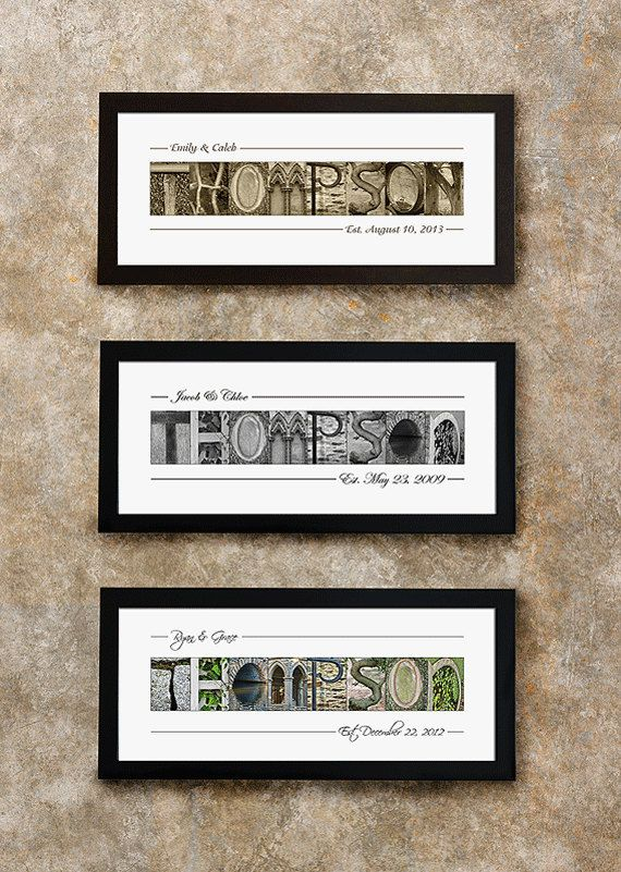 Alphabet Photography Letters, Wedding Gift, Anniversary Gift, Gift ...