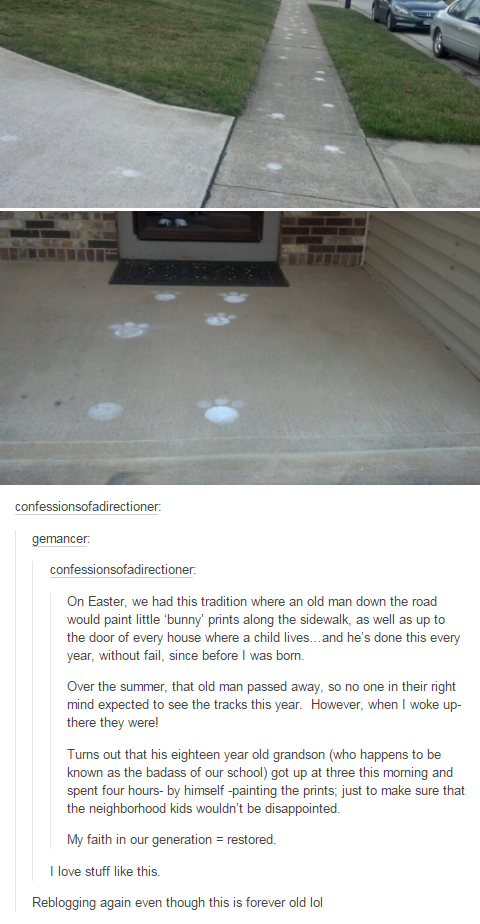 Just in time for Easter
