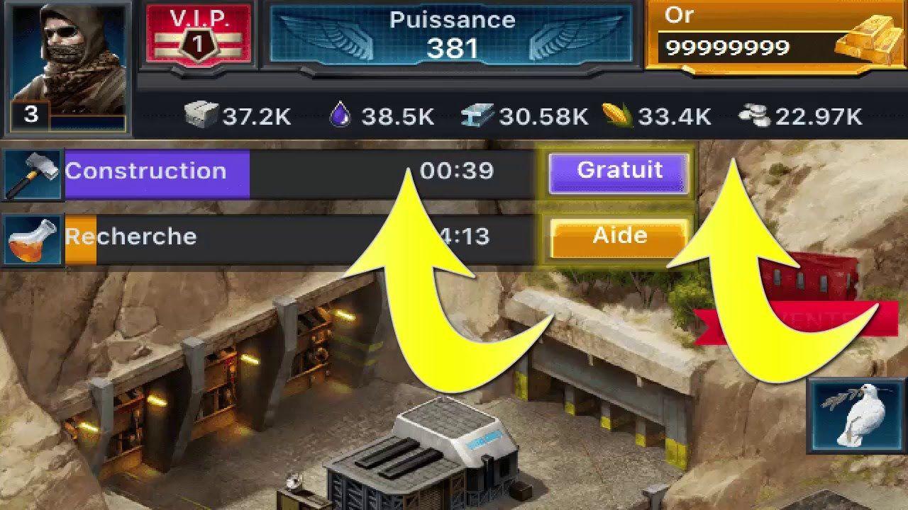 Mobile Strike Hack Free Gold (live proof) Mobile Strike