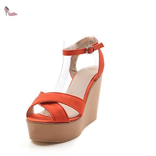 BalaMasa , Sandales pour femme - Orange - Jacinth, 42 - Chaussures balamasa  (  33baae7de64b