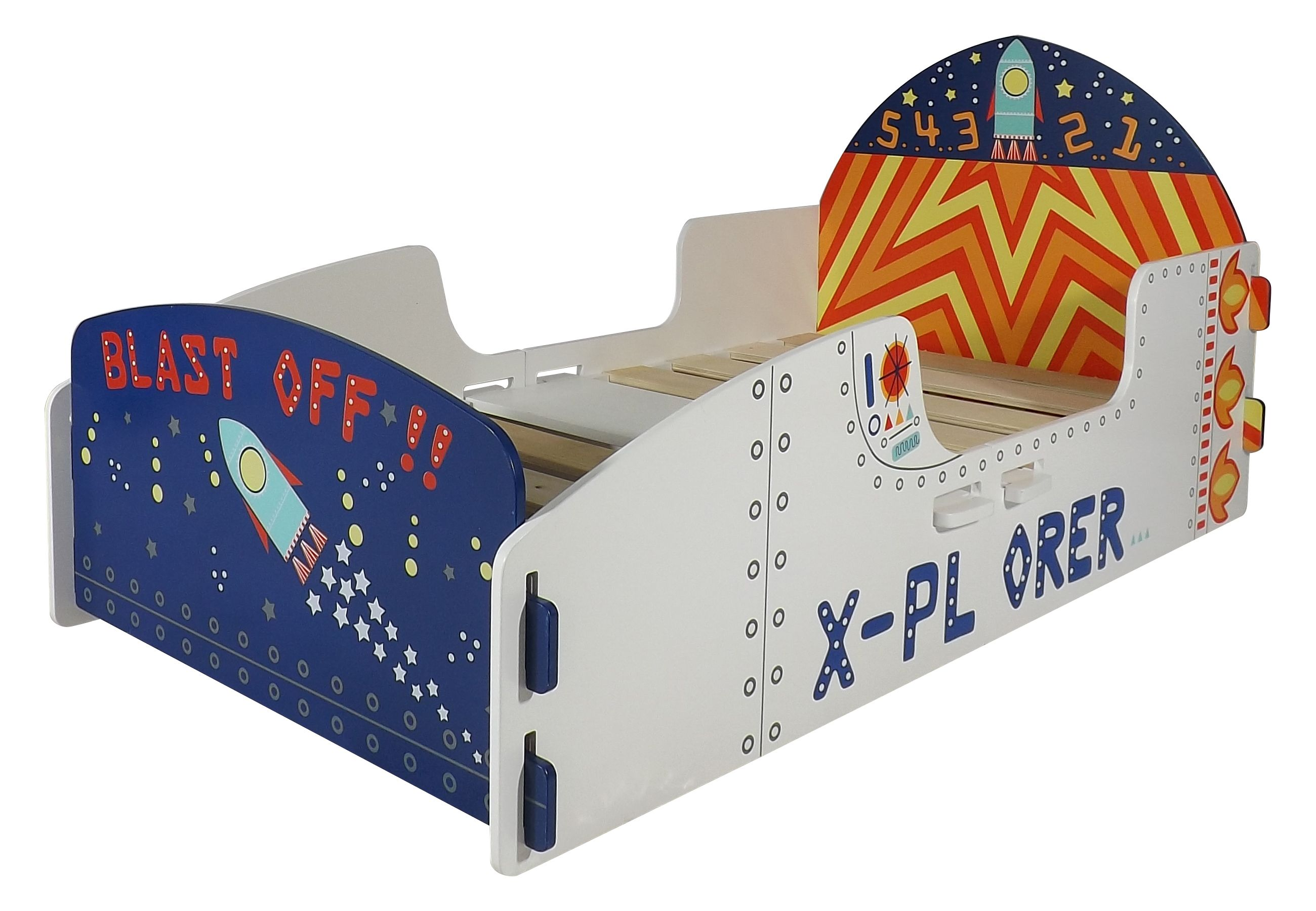 The New Space Bed Shaped Like A Rocket Great For Your Child From 2