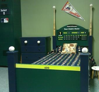Baseball Bed Ok Not Really My Style But Definitely A Style I