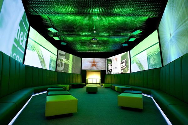 The Heineken Experience at the Heineken Brewery, Amsterdam, Discuss at https://www.facebook.com/DigitalSignageAwards The Netherlands #electrosonic #entertainment