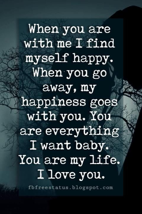 Quotes about being away from your love