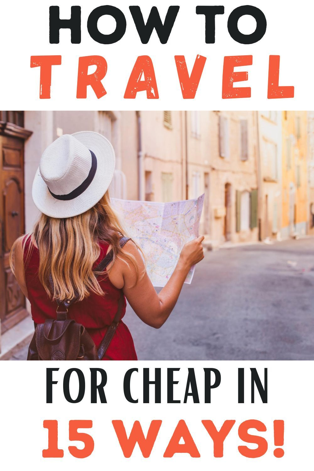 Traveling can be sooo expensive! But it doesn't need to be! Here are 15 real ways to save money traveling so that you can travel more often! #travel #traveling #traveldeals #travelhack #howtotravel #travelingforcheap #cheaptravel #discounttravel #wheretotravel #travelideas #traveltips