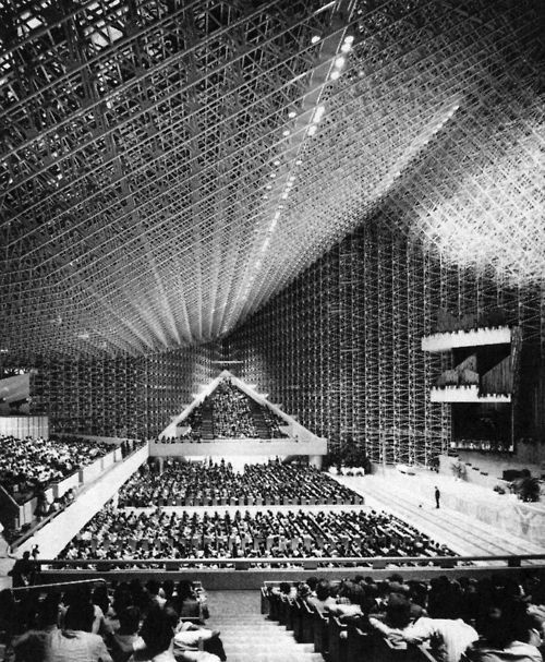 Roofless Church Designed By Philip Johnson In 1960 For New Harmony Indiana Google