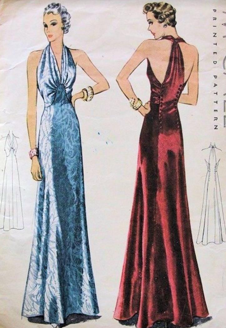 Glamorous Evening Dresses Halter
