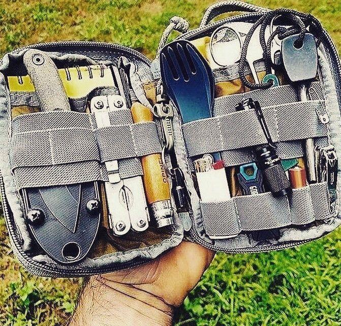 Photo of 13 in 1 Survival Gear Kit –  Alltags-Tragetasche – Raven Survival Prep #bushcr…