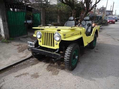 jeep willys 4x4 1947 vendido