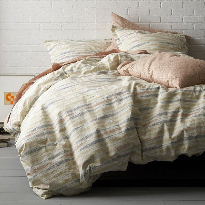 Helix Organic Percale Duvet Cover Our Helix Bedding Displays