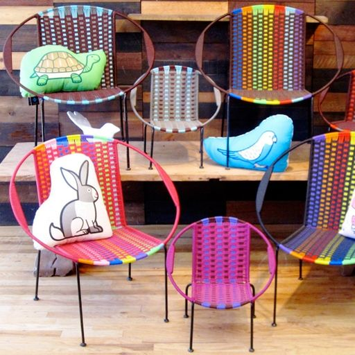 Cultura Femenina Sillas Tejidas PLAYA Pinterest Silla tejida - sillas de playa
