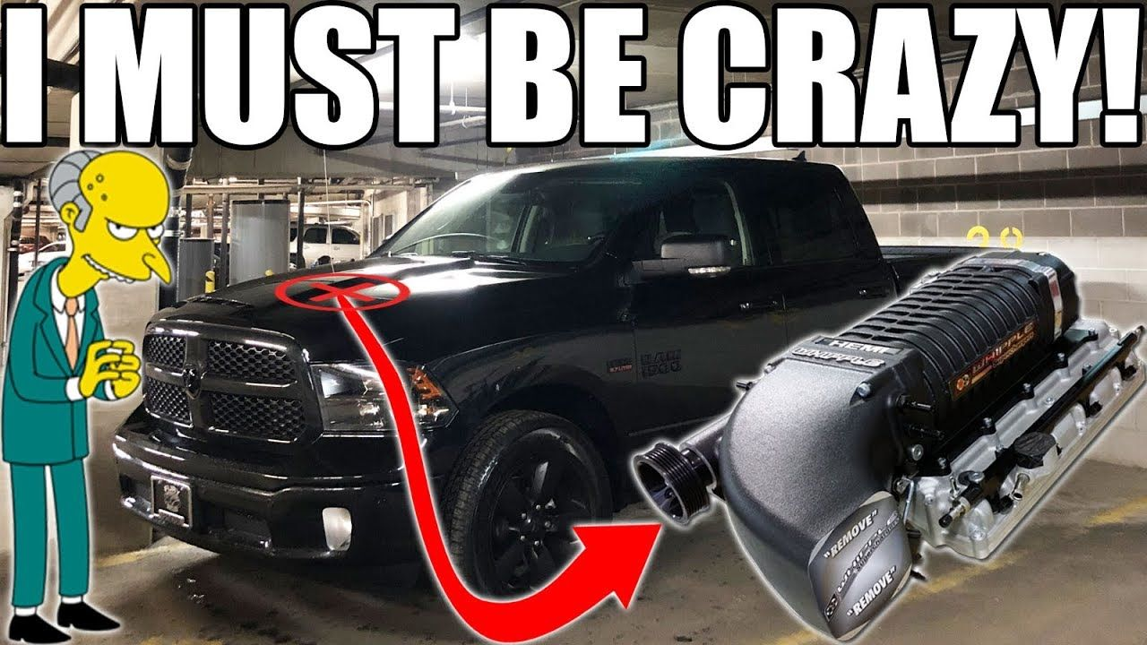 Latest Dodge Ram I M Putting A Supercharger On My Ram Pick Up Truck This Is About To Be Ultra Legendary Ram Pick Up Dodge Ram 1500 Accessories Supercharger