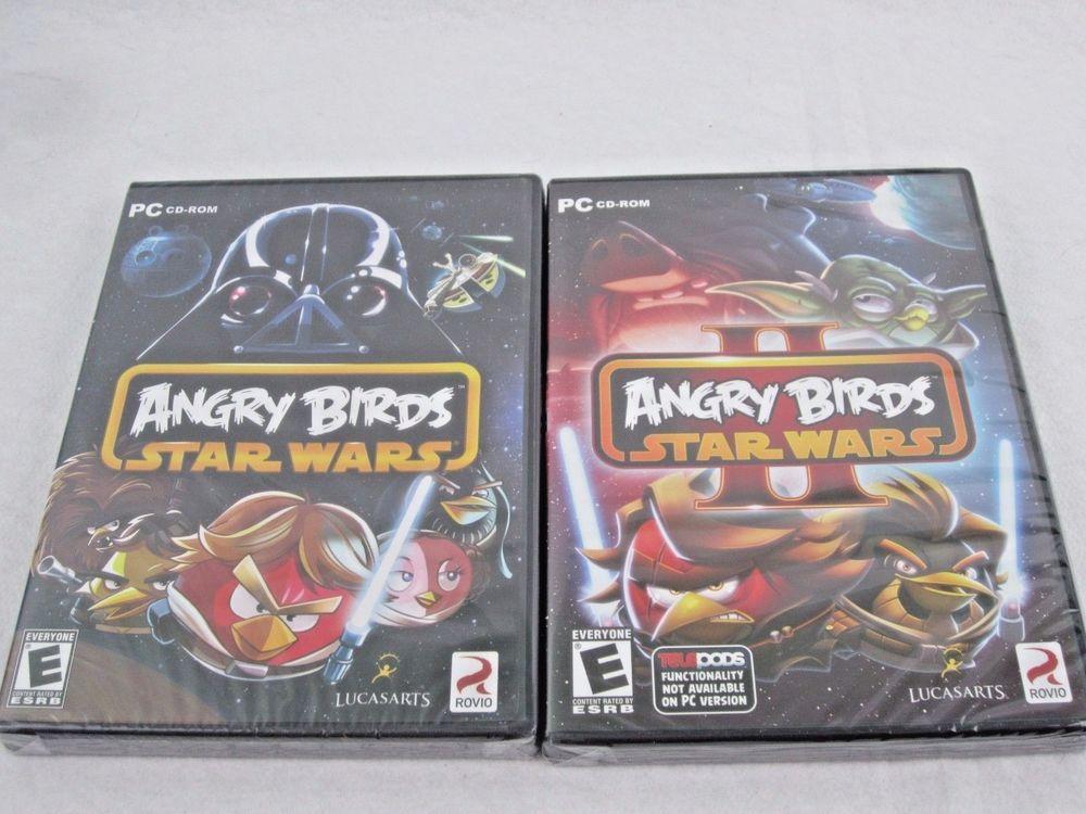 Angry Birds Star Wars Vol 1 2 Pc Games Windows7 Vista Xp Computer