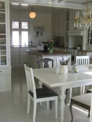Denmark white kitchen