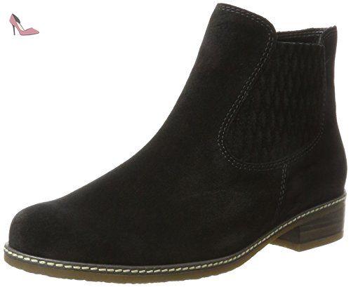 Gabor Shoes Comfort Sport, Botines Femme, Noir (SCHW(Micro/S.SCHW) 87), 42.5 EU