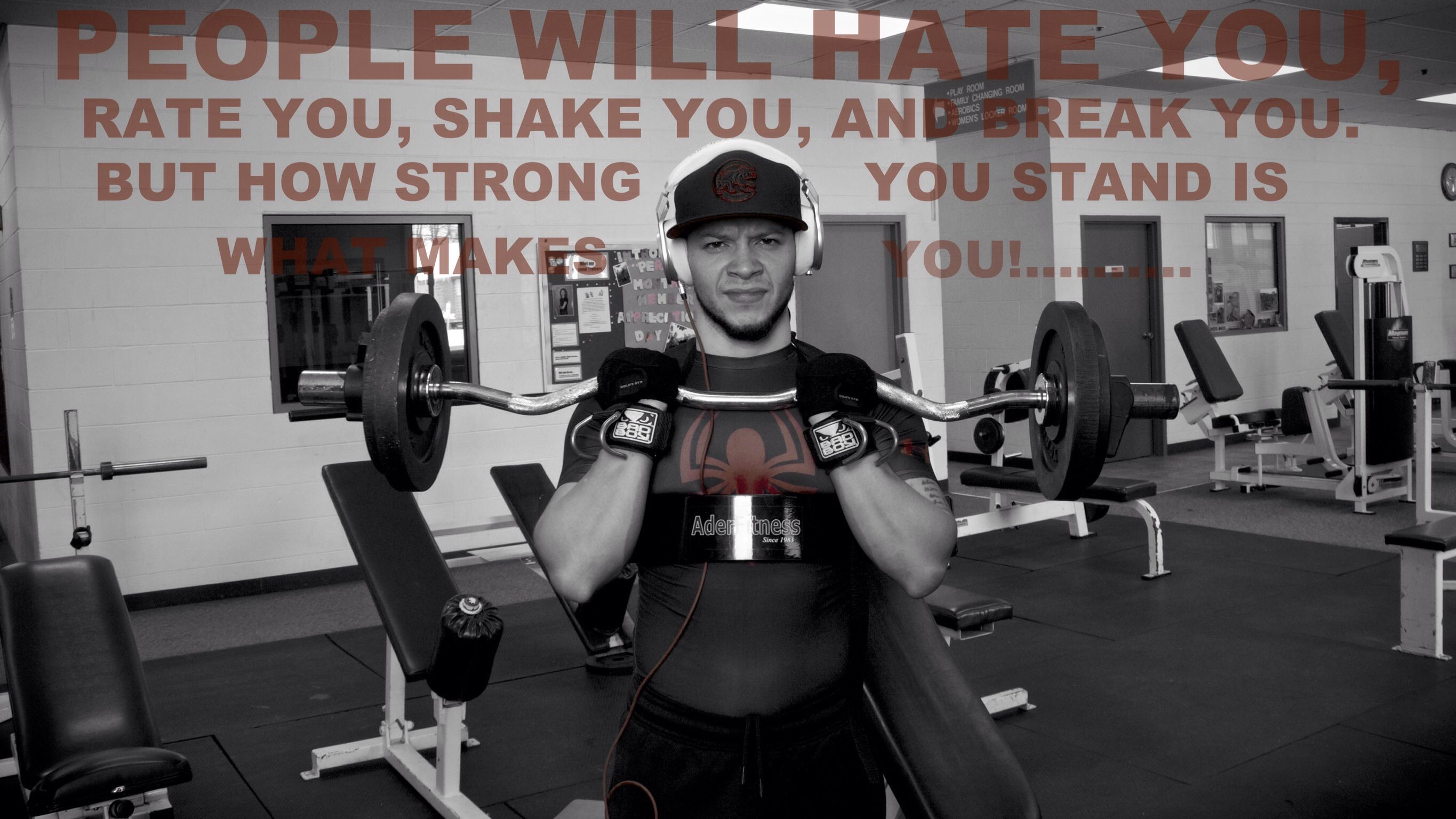 How Strong Are You Gym Quote King Fitness Gym