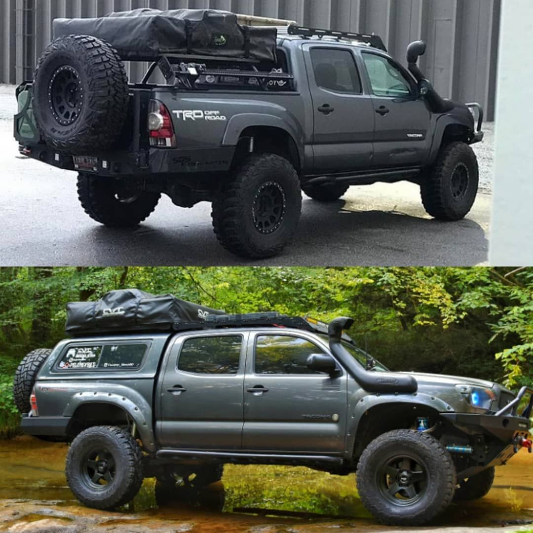 shell and bed slide VS bed rack and decked truck