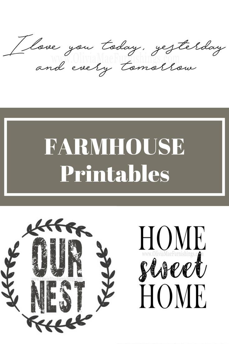 Farmhouse Decor Prints Farmhouse Printables Instant Download Print Farmhouse Decor Fixer Upper Wall Art Lighting Farmhouse Printables Printable Letters