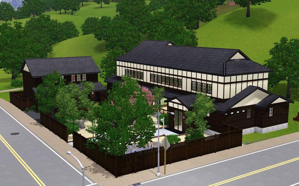 Mod The Sims Japanese Style House 12