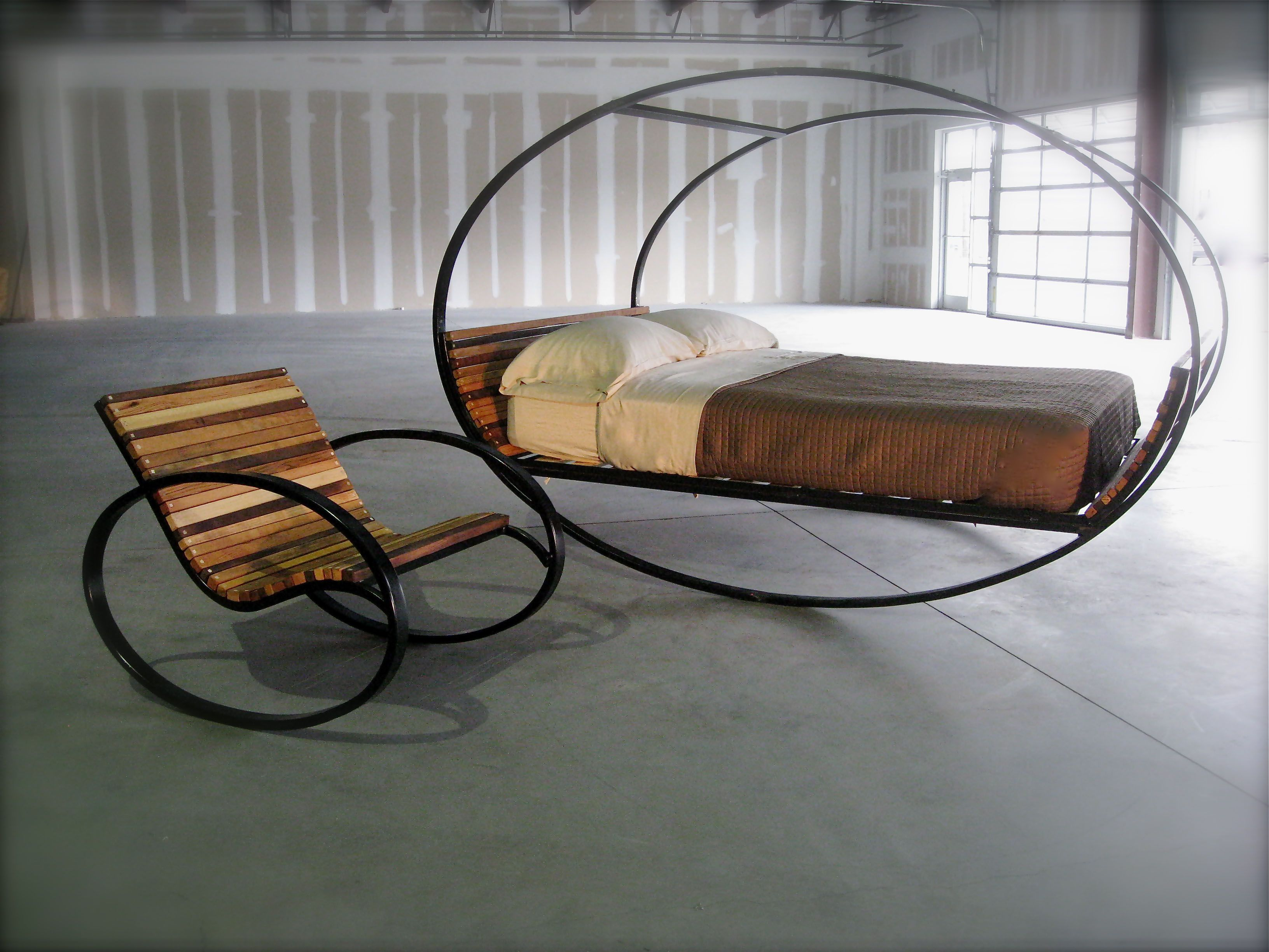 Whatu0027s Better Than A Rocking Chair.a Rocking Bed. Mood Rocking Bed For  Welcoming Summer Indoors And Out. Design